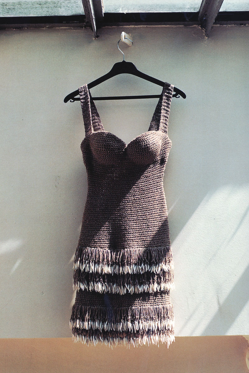 Alaia mini dress from the Spring/Summer 1990 collection