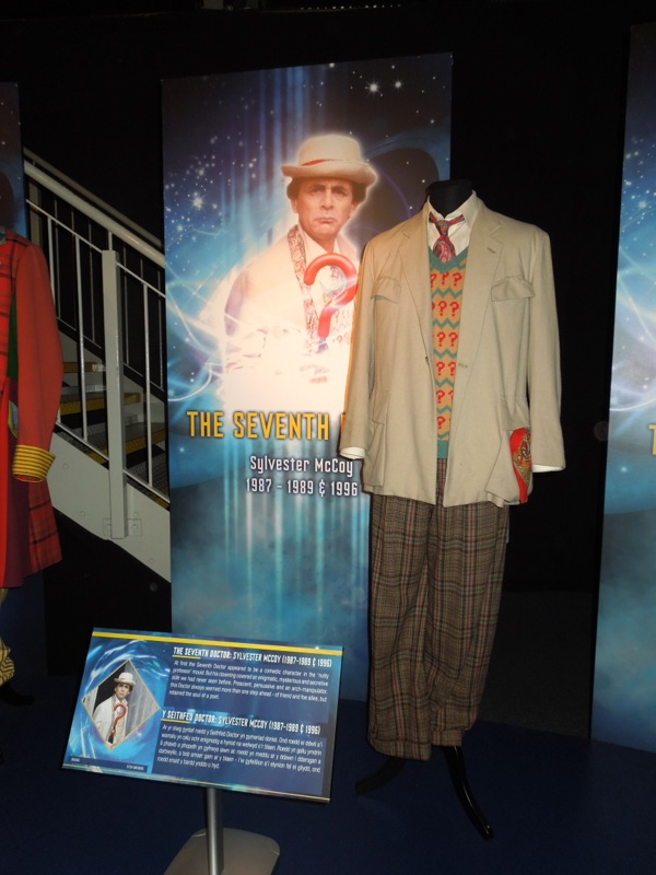 Original Sylvester McCoy Seventh Doctor Who costume