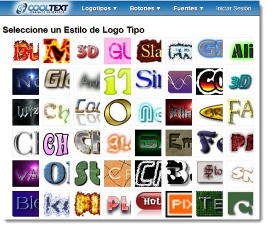 Cool text generador online de logotipos logotipos for Generador de logos