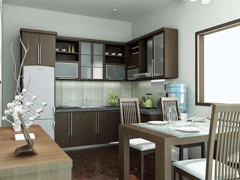 Desain Dapur dan Ruang Makan yang Elegan