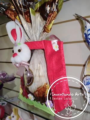 cestas coelhos de páscoa 2011 ponta grossa
