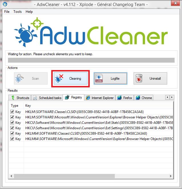 Cara Menggunakan AdwCleaner