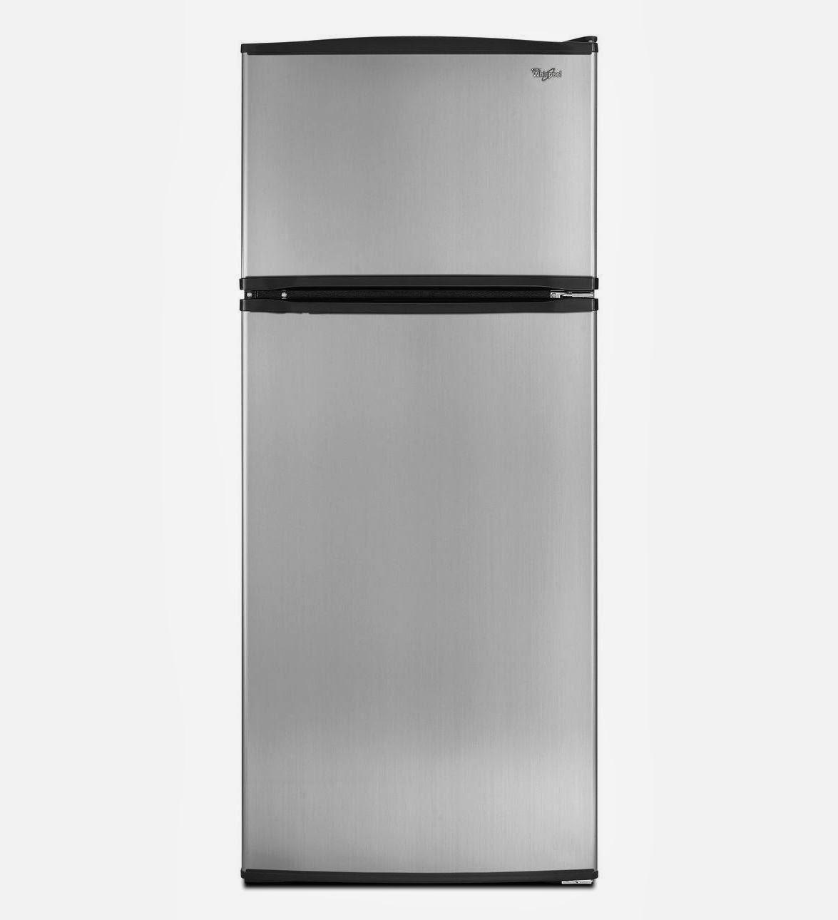 Refrigerator brand w8rxngmws stainless steel top freezer refrigerator