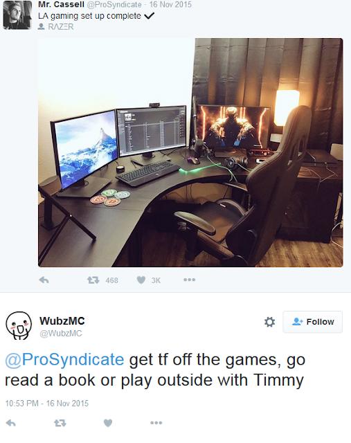 ProSyndicate Razer LA gaming set up