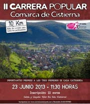 Carrera Comarca Cistierna