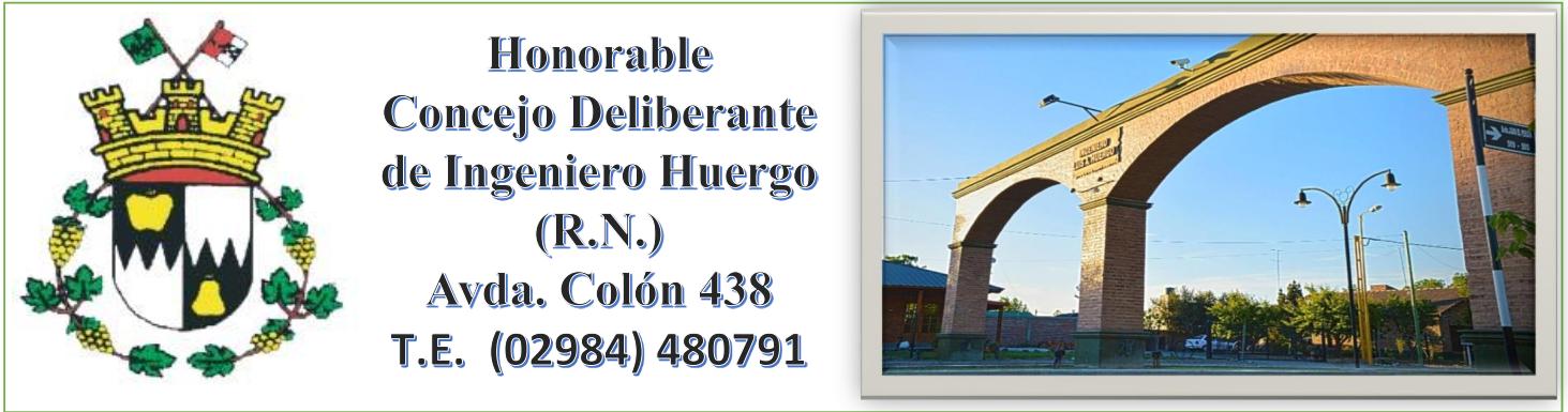 Concejo Deliberante de Ingeniero Huergo (R.N.)