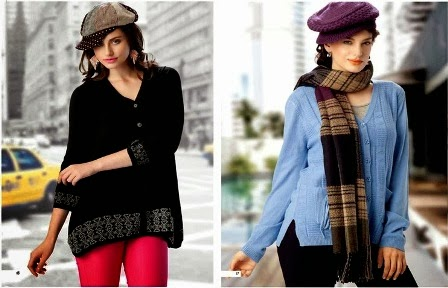 Ladies Sweaters Winter Collection 2013-14