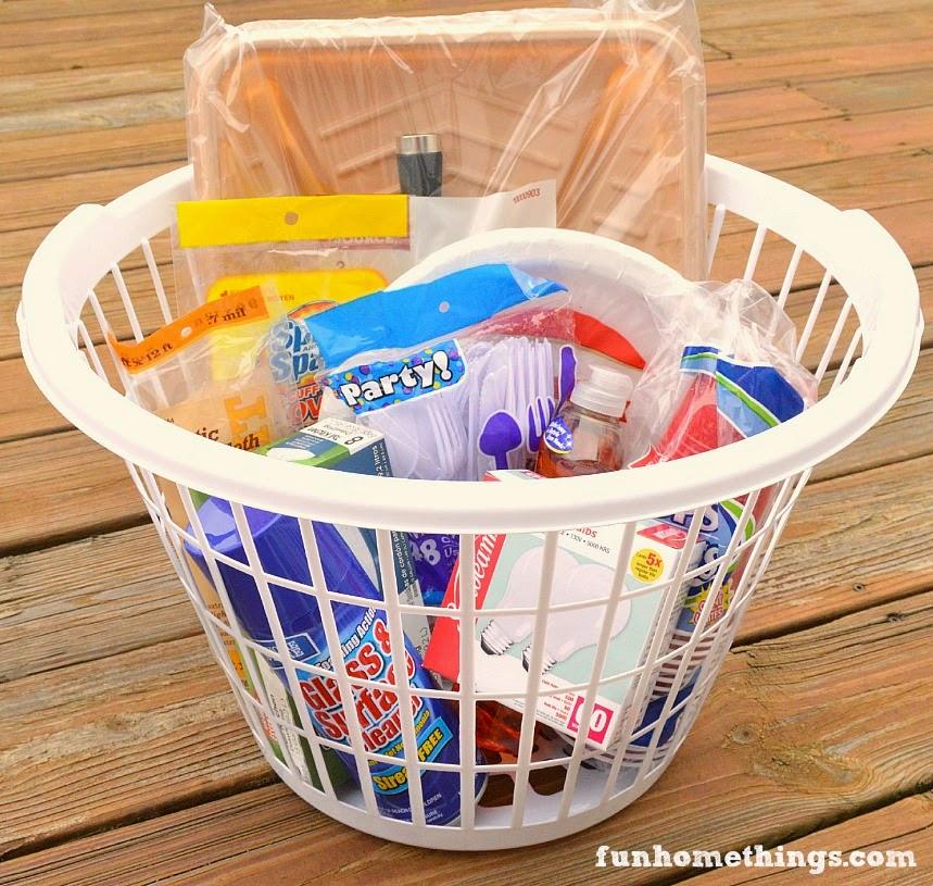 practical housewarming gift basket for under 20 fun
