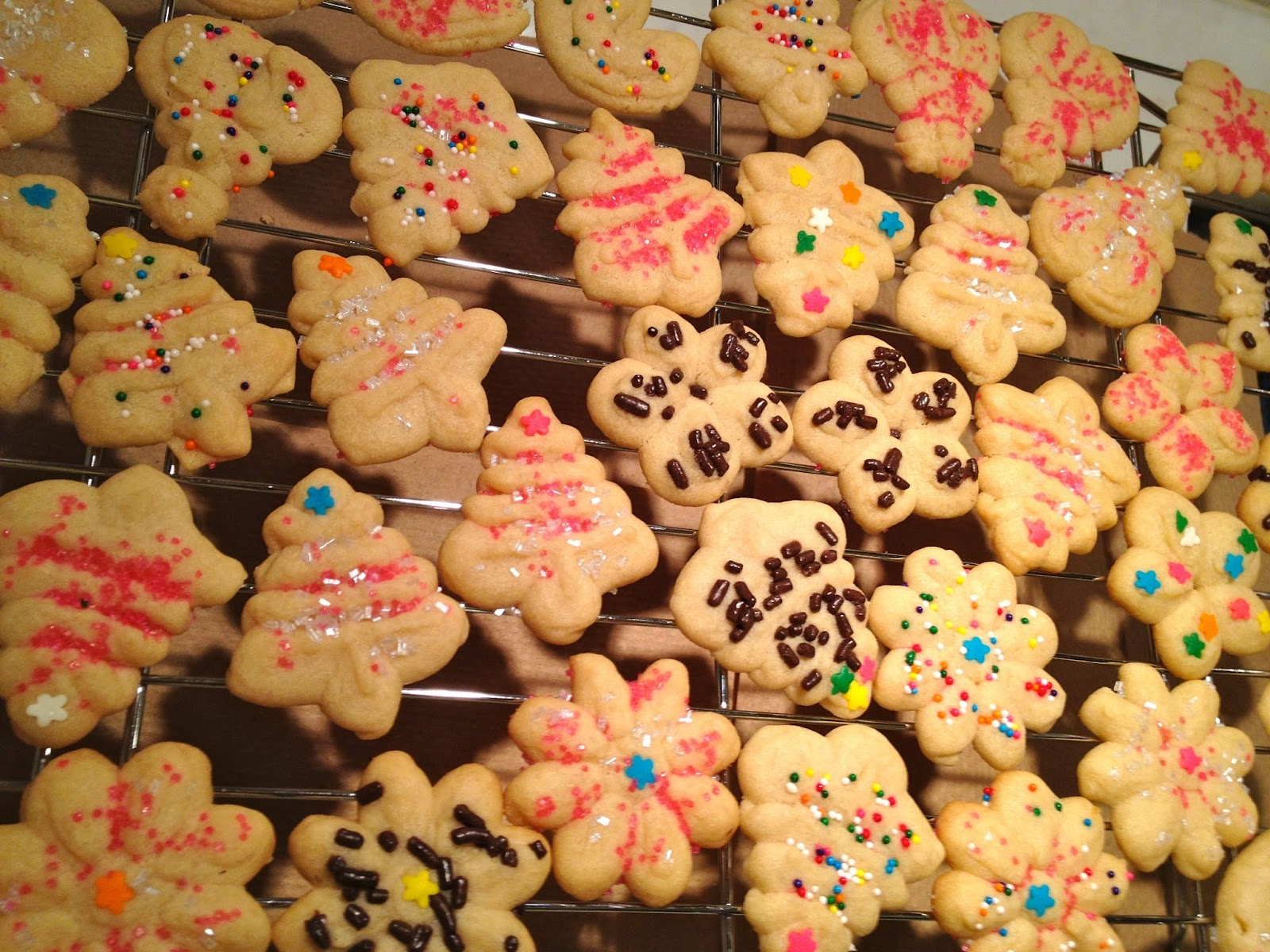 Little ms piggys baking butter cookie recipe for cookie press