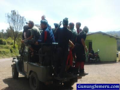 tarif jeep angkutan terbaru 2013 semeru tumpang bromo ranupani