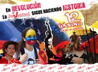 A la Juventud de Piar y Venezuela Felicitaciones  Los Jóvenes son la Fuerza del Cambio