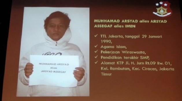 Ini dia Muhammad Arsyad yang nyebar Foto gambar Porno jokowi dan megawati