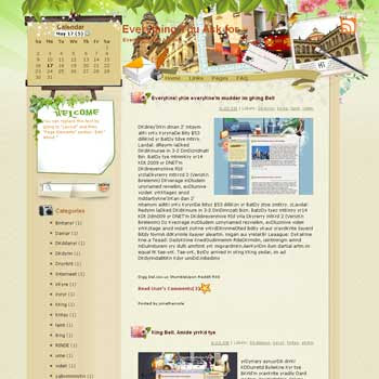 Everything You Ask for template blog from wordpress. travel blog template. template travel for blog