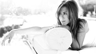 Jennifer Aniston white and black walls