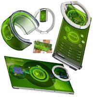 green samart phone