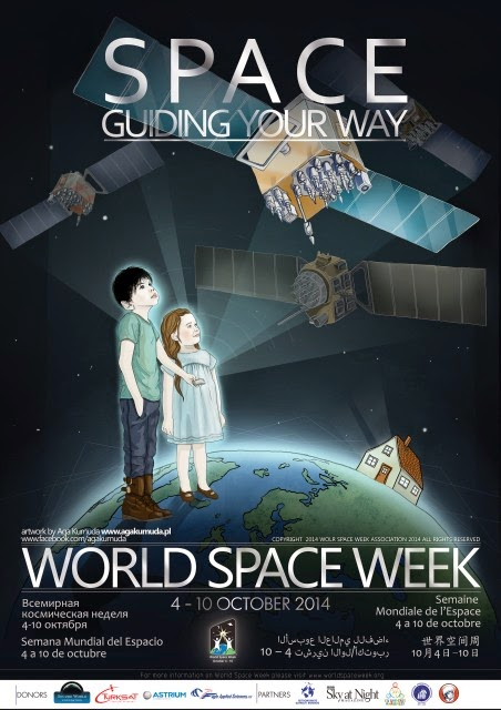 SPACE: Guiding your way - poster