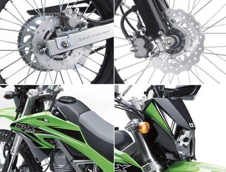 Fitur terbaru Kawasaki KLX 150 2015