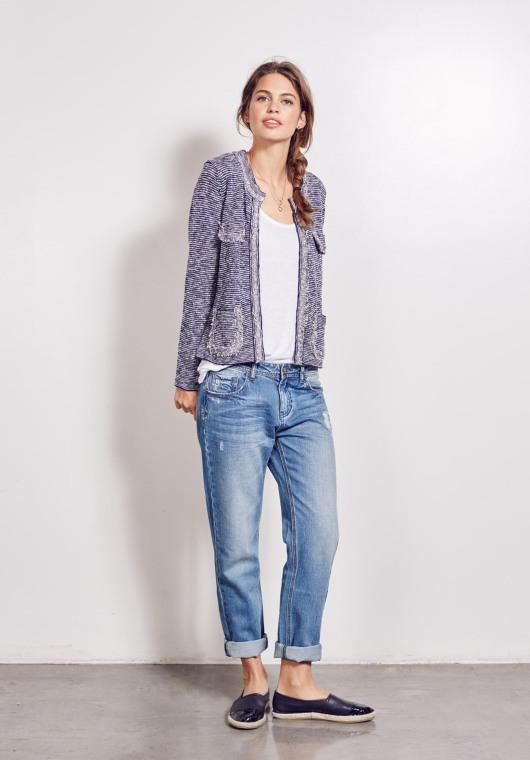 Hush Crop Knit Jacket