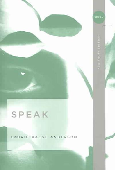 speak by laurie halse anderson essay prompts