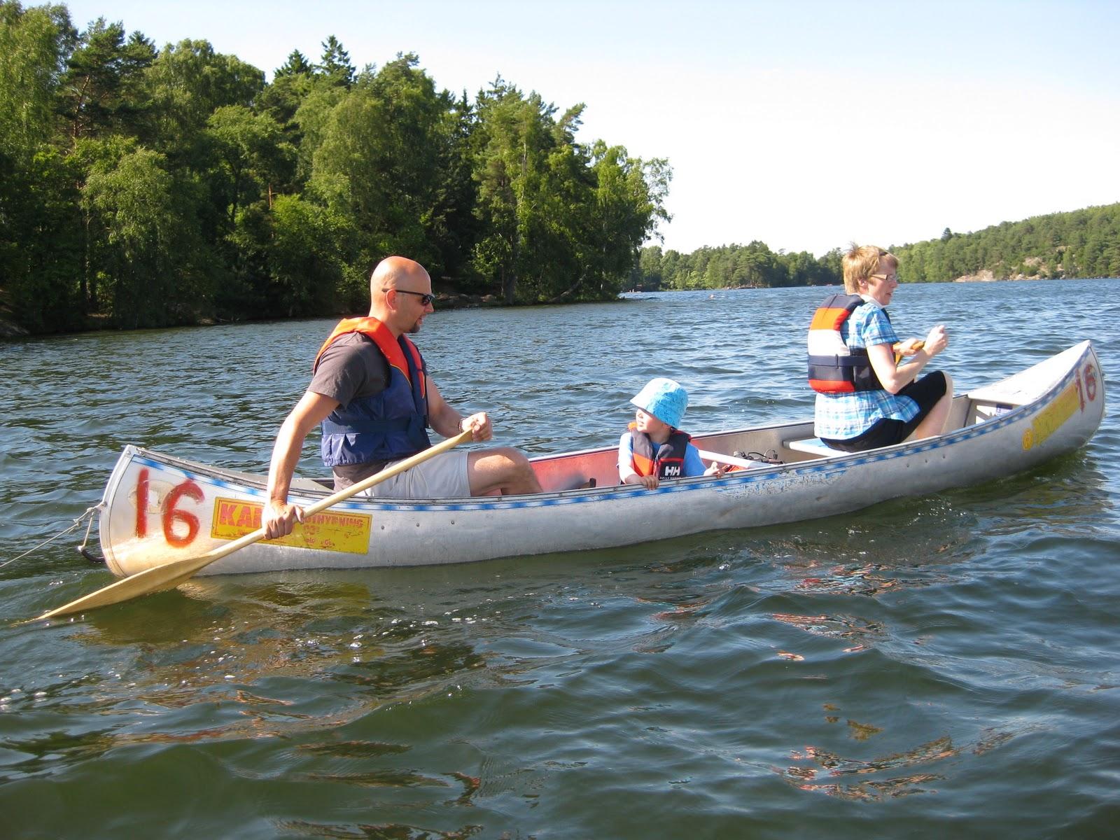 paddla kanot göteborg