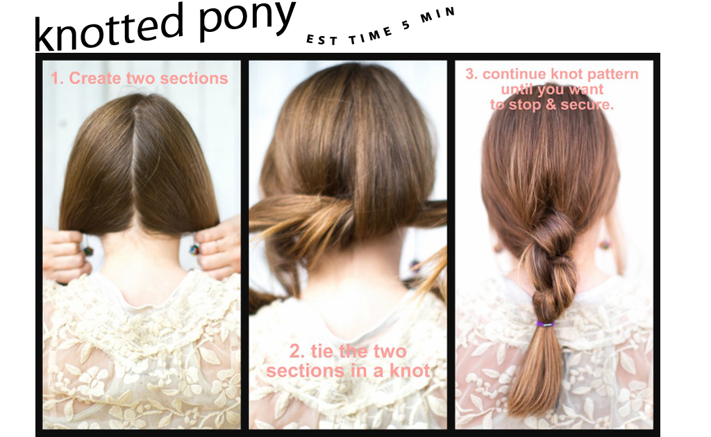 Pepersonal Shopping: School Sparkle: 4 Quick & Easy Heatless Hairstyles!