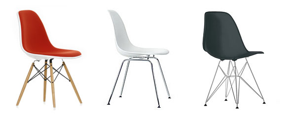 decoración-sillas Eames. Plastica side chair- 1950