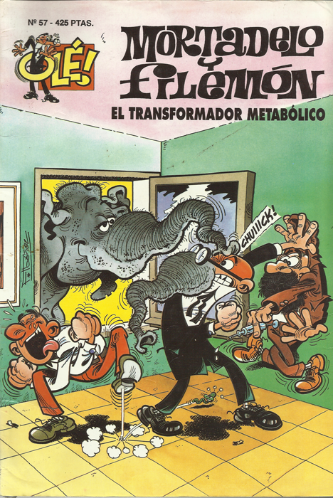 El Transformador Metabólico - Mortadelo y Filemón