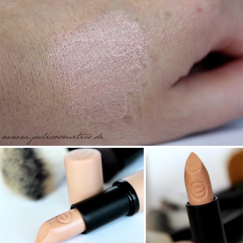 essence longlasting lipstick - 04 it´s nude time