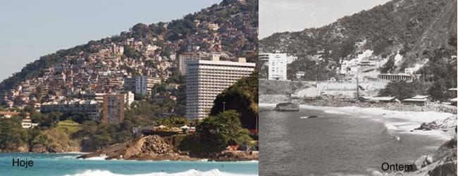Vidigal, uma das melhores vista do Rio, acesso pela Av. Niemeyer