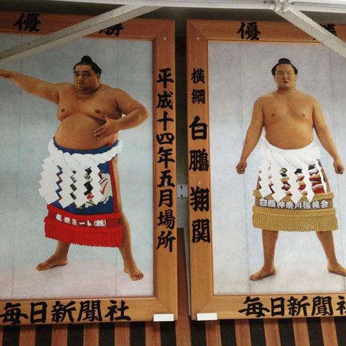 New Year Grand Sumo Tournament.