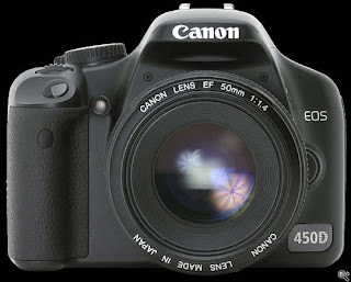 Spesifikasi Kamera DSLR Canon 450D