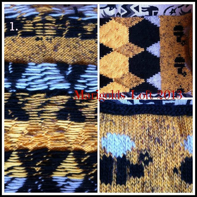 4KCBWEC Free pattern fair isle colour work