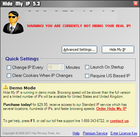 Free download Hide My IP 5.3.0.20565