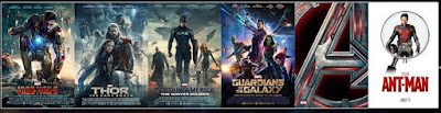 Phase 2 Marvel movies, Iron Man 2, Thor 2, Captain America 2, Guardians of the Galaxy, Ant-Man, Avengers 2