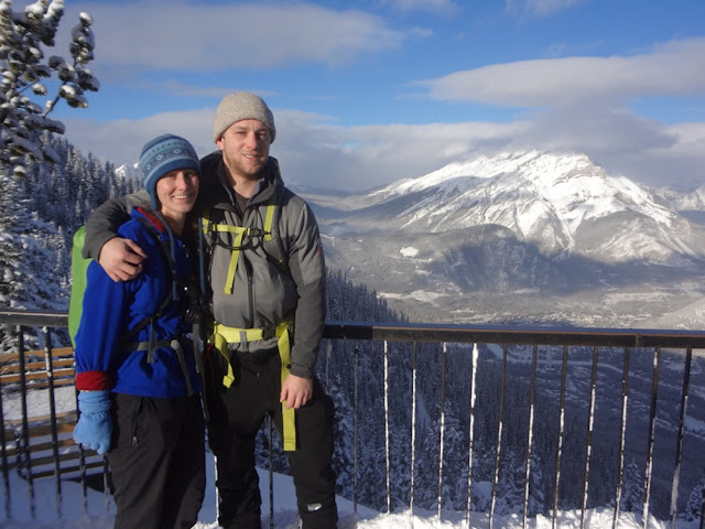 summit of sulphur mountain