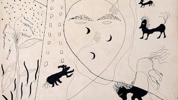 Autorretrato de Lorca en Nueva York