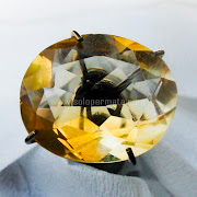 Batu Permata Yellow Citrine - SP902