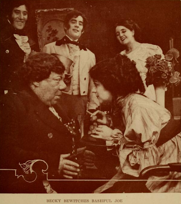 "John Bunny with Helen Gardner in ""Vanity Fair"""