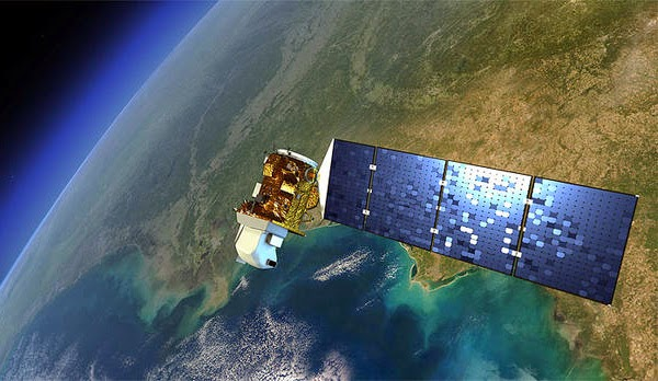 Landsat 8 spacecraft