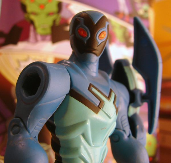 Toyriffic: Blue Beetle :: Brave and the Bold Style - photo#27