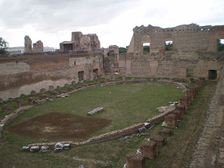 The Stadium of Augustus, Rome - How to see Rome in a hurry, our Two day sightseeing whirlwind!