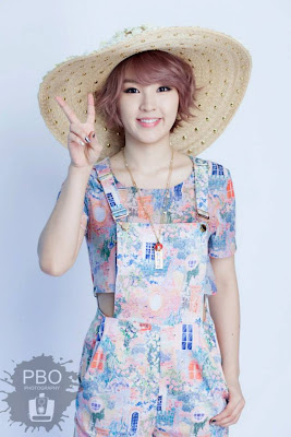 Jiyoon 4minute 2Yoon CeCi Magazine May 2013