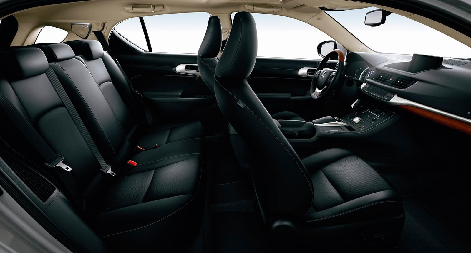 Lexus CT 200h Brasil - interior