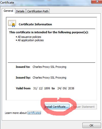 Cara Mengatasi Error 443 Pada Charles
