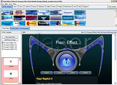 Flash website design 2 0 crack software games more for Free website planning tool
