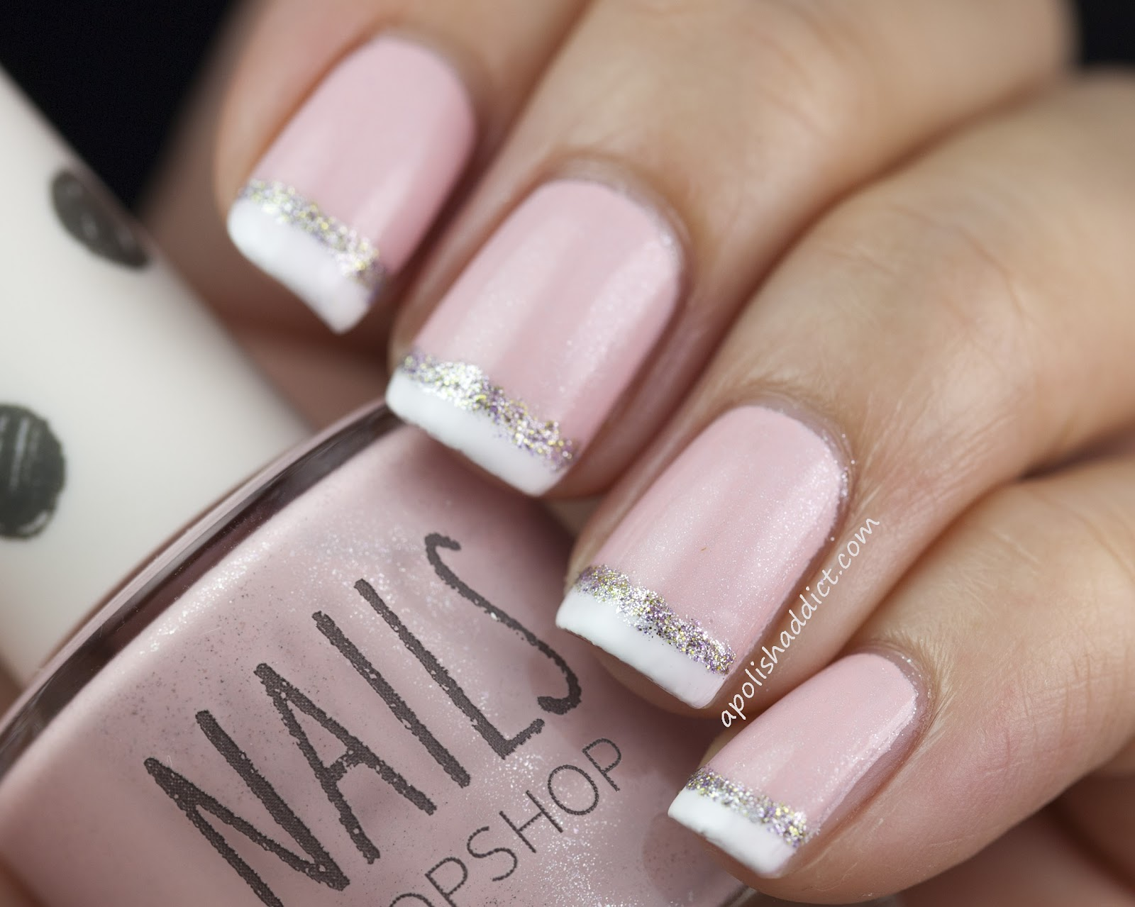 ... Topshop nail line. They are creamy pastel shades with silver shimmer