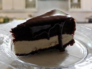 resep membuat kue es krim cake coklat enak dan lezat