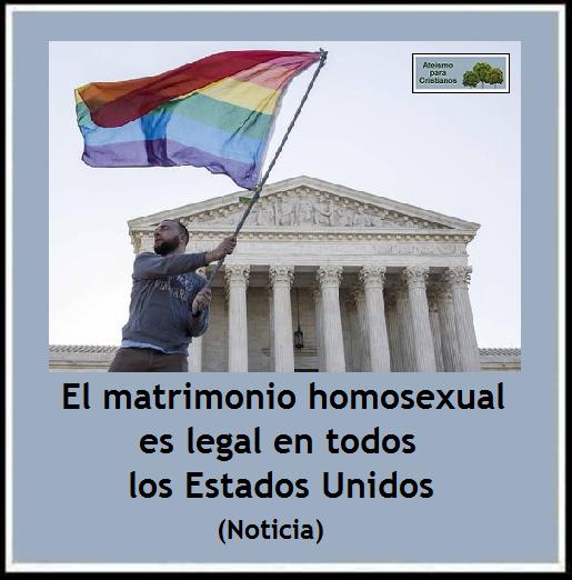 El cambio es un buen matrimonio entre personas del mismo sexo