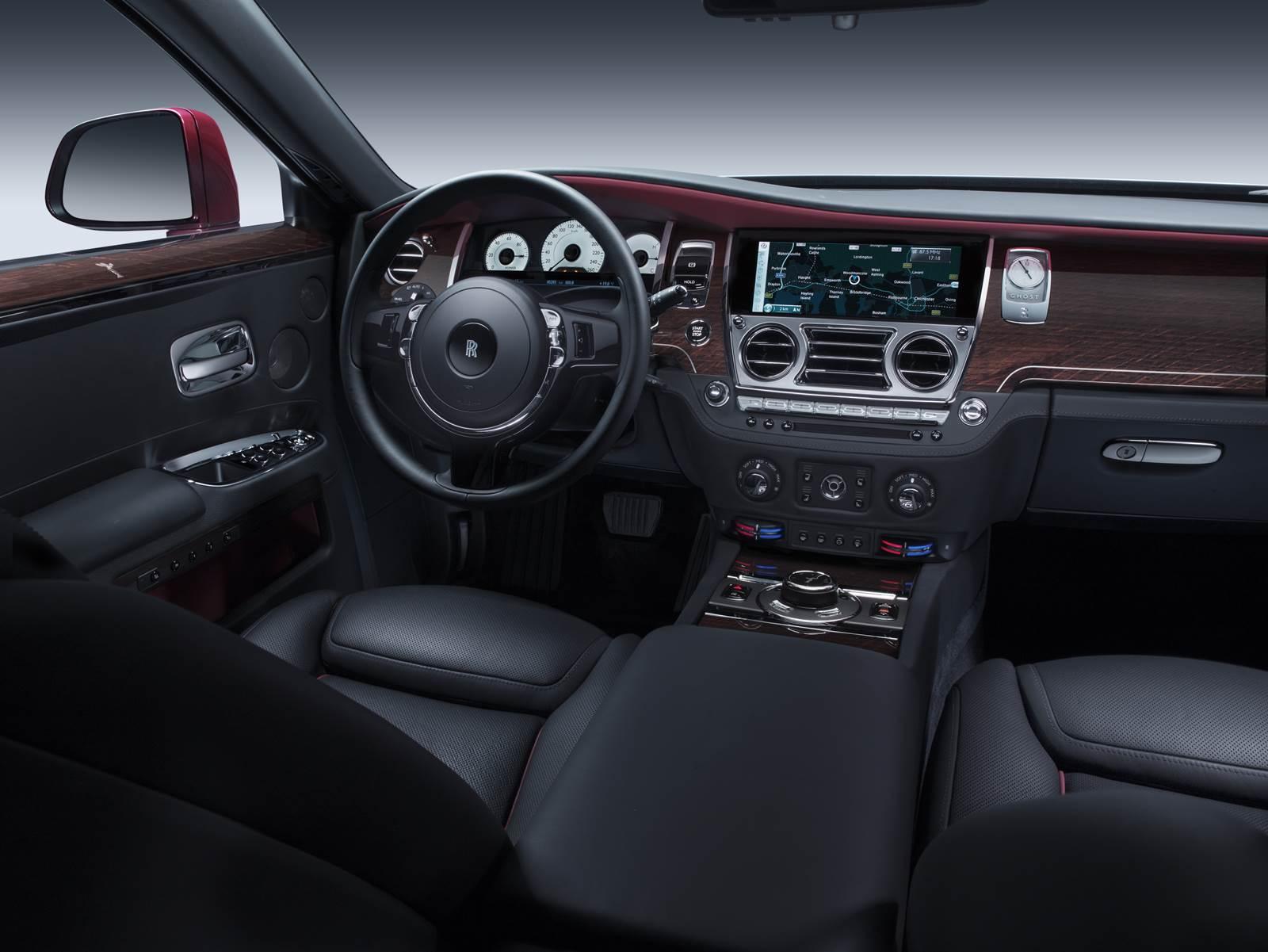 Rolls Royce Ghost Série II - interior