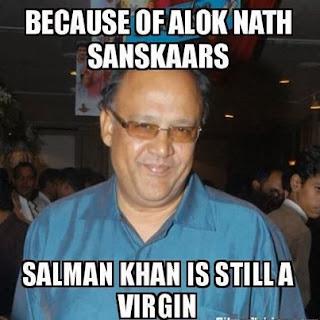 Alok Nath Funny Virgin Salman Khan
